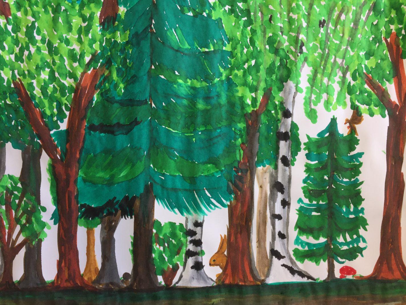 Waldkalender von Arleen Brunke